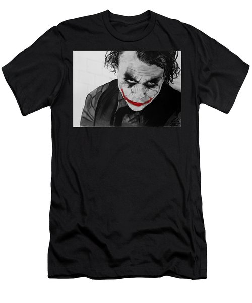 The Joker Men's T-Shirt (Slim Fit) by Robert Bateman