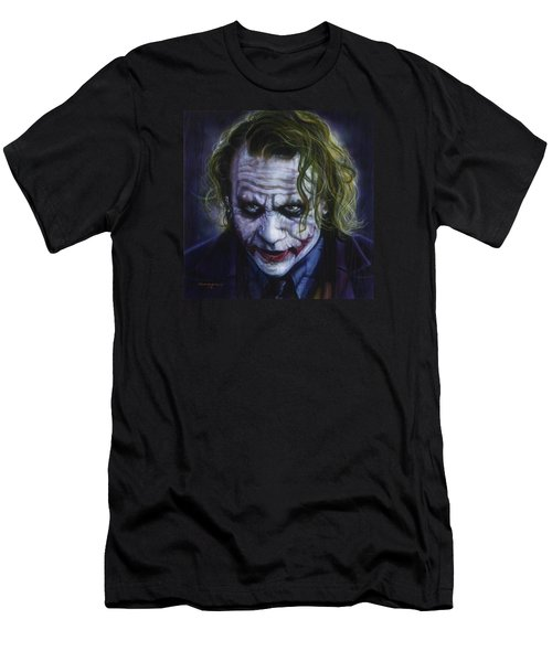 The Joker Men's T-Shirt (Slim Fit) by Tim  Scoggins