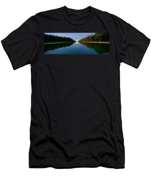 The Lincoln Memorial At Sunrise Men's T-Shirt (Slim Fit) by Panoramic Images