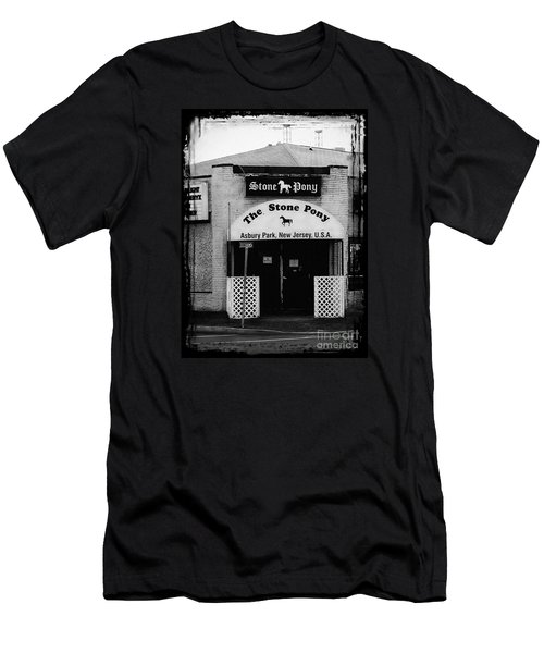 The Stone Pony Men's T-Shirt (Slim Fit) by Colleen Kammerer