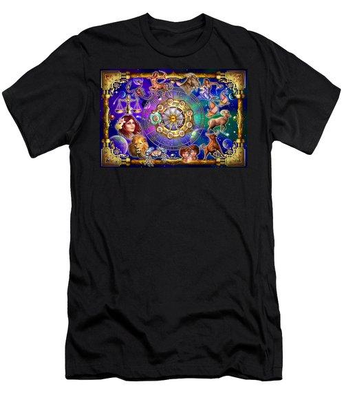 Zodiac 2 Men's T-Shirt (Slim Fit) by Ciro Marchetti