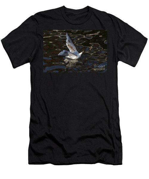 Head Under Water Men's T-Shirt (Slim Fit) by Michal Boubin