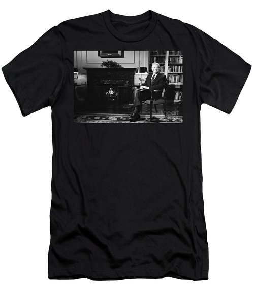 Jimmy Carter (1924- ) Men's T-Shirt (Slim Fit) by Granger