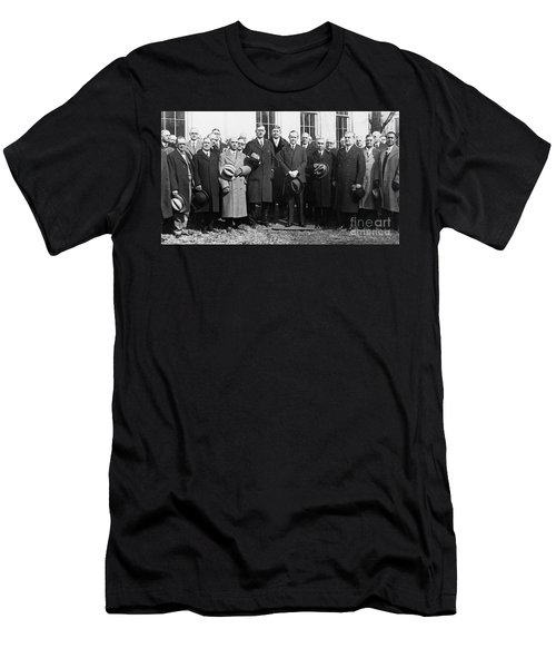 Coolidge: Freemasons, 1929 Men's T-Shirt (Slim Fit) by Granger