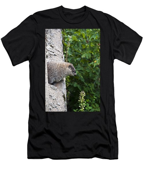 Groundhog Day Men's T-Shirt (Slim Fit) by Bill Cannon