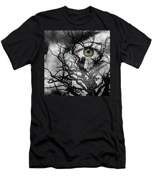 Medusa Tree Men's T-Shirt (Slim Fit) by Semmick Photo
