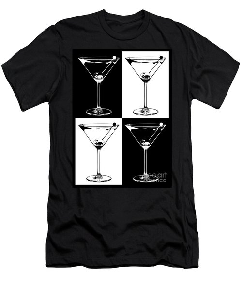 Classic Martini  Men's T-Shirt (Slim Fit) by Jon Neidert