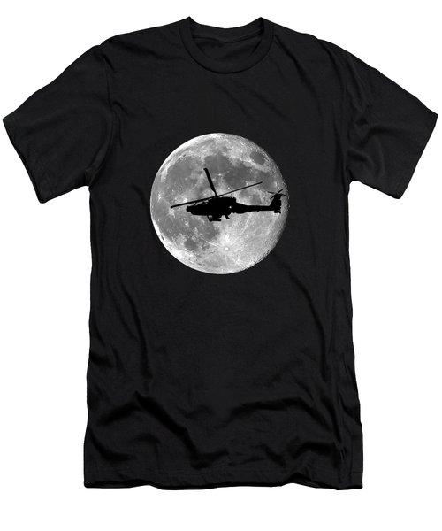 Apache Moon .png Men's T-Shirt (Slim Fit) by Al Powell Photography USA