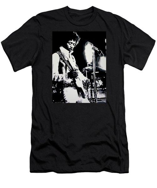 Purple Haze Men's T-Shirt (Slim Fit) by Luis Ludzska