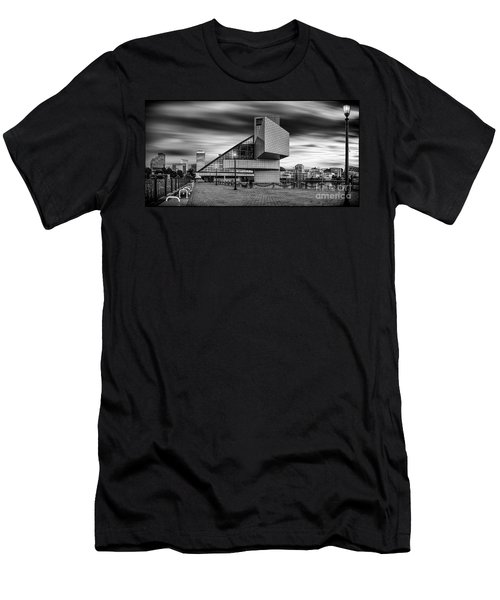 Rock And Roll Hall Of Fame  Men's T-Shirt (Slim Fit) by James Dean