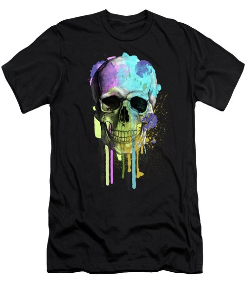 Halloween Men's T-Shirt (Slim Fit) by Mark Ashkenazi