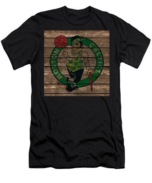 The Boston Celtics 1e Men's T-Shirt (Slim Fit) by Brian Reaves