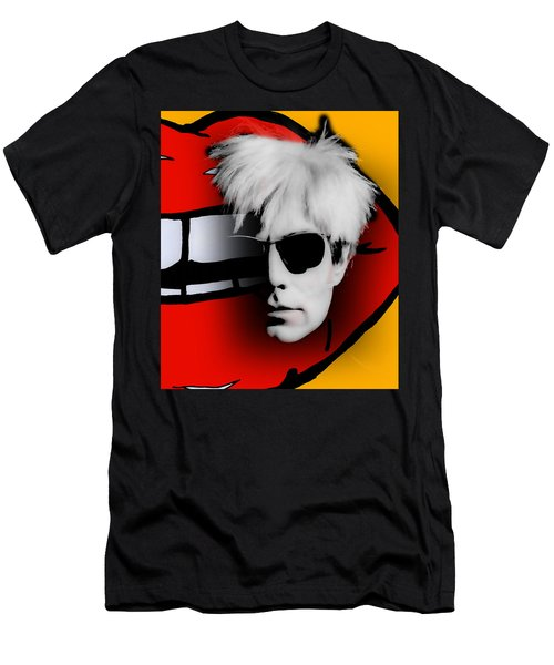 Andy Warhol Collection Men's T-Shirt (Slim Fit) by Marvin Blaine
