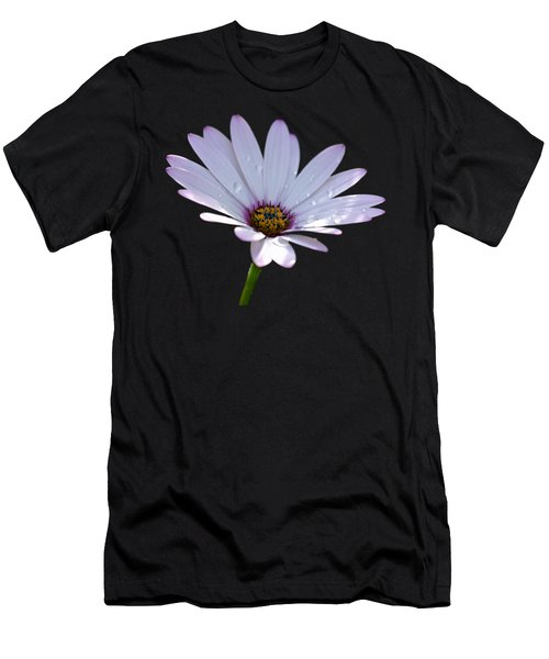 African Daisy Men's T-Shirt (Slim Fit) by Scott Carruthers