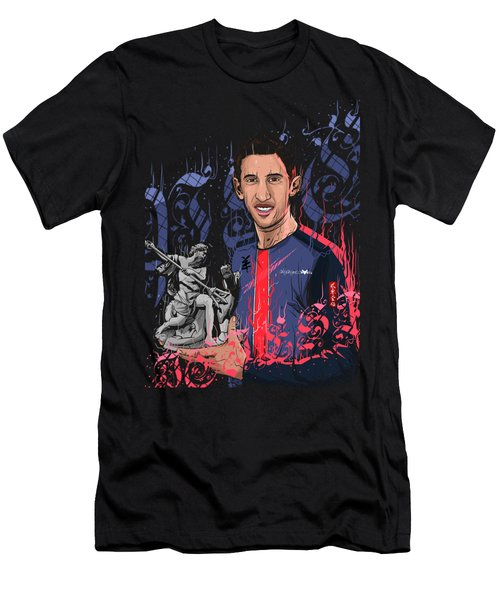 An Angel In Paris Men's T-Shirt (Slim Fit) by Akyanyme