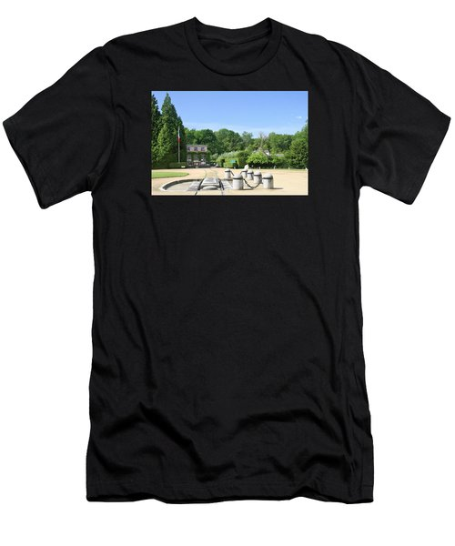 Men's T-Shirt (Slim Fit) featuring the photograph Armistice Clearing In Compiegne by Travel Pics