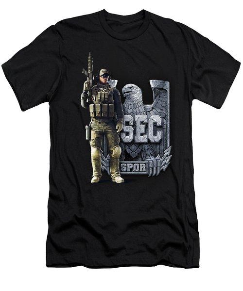 Spectral Dragon Collection Men's T-Shirt (Slim Fit) by Celtic Predator