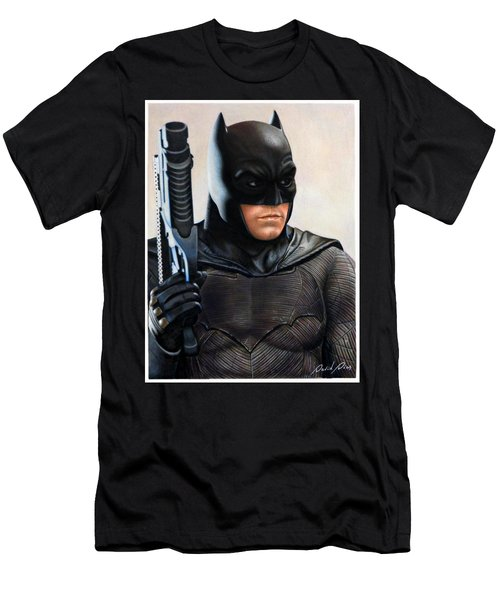 Batman 2 Men's T-Shirt (Slim Fit) by David Dias