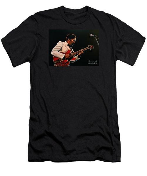 B. B. King Men's T-Shirt (Slim Fit) by Paul Meijering