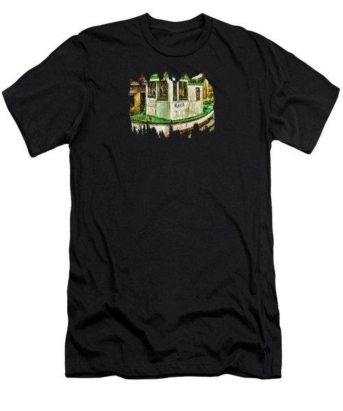 Beaver The Old Fishing Boat Men's T-Shirt (Slim Fit) by Thom Zehrfeld