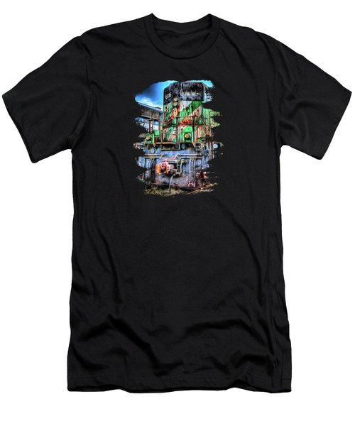 Big Bad 6116 Men's T-Shirt (Slim Fit) by Thom Zehrfeld