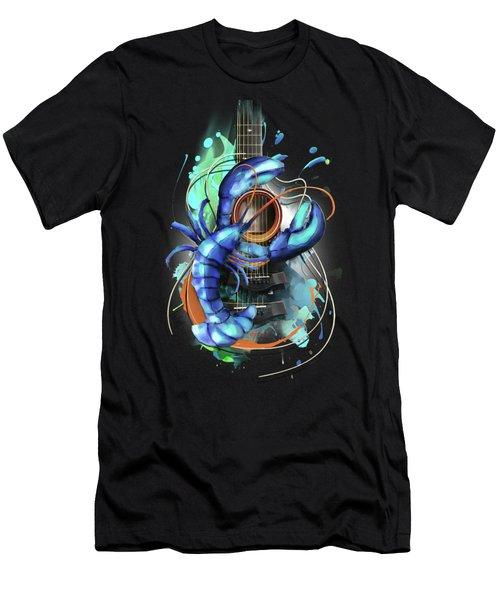 Cancer Men's T-Shirt (Slim Fit) by Melanie D