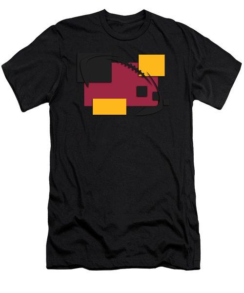 Cardinals Abstract Shirt Men's T-Shirt (Slim Fit) by Joe Hamilton