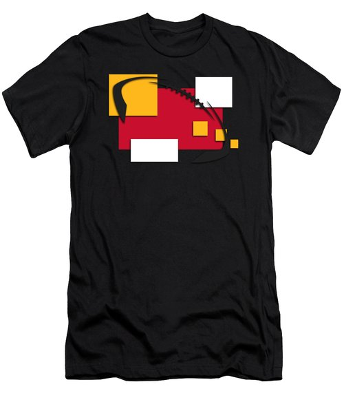 Chiefs Abstract Shirt Men's T-Shirt (Slim Fit) by Joe Hamilton