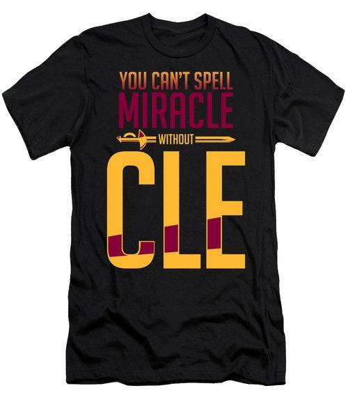 cle Men's T-Shirt (Slim Fit) by Augen Baratbate