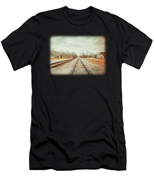 Col. Larmore's Link Men's T-Shirt (Slim Fit) by Anita Faye