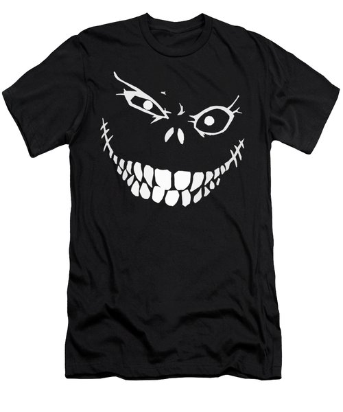 Crazy Monster Grin Men's T-Shirt (Slim Fit) by Nicklas Gustafsson