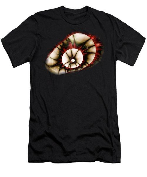 Dragon Eye Men's T-Shirt (Slim Fit) by Anastasiya Malakhova