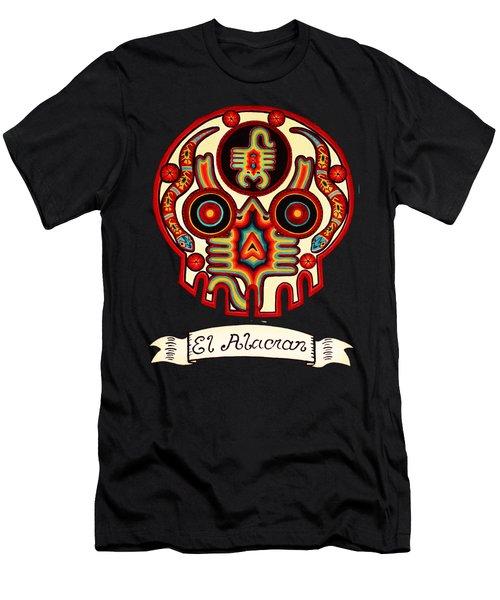 El Alacran - The Scorpion Men's T-Shirt (Slim Fit) by Mix Luera