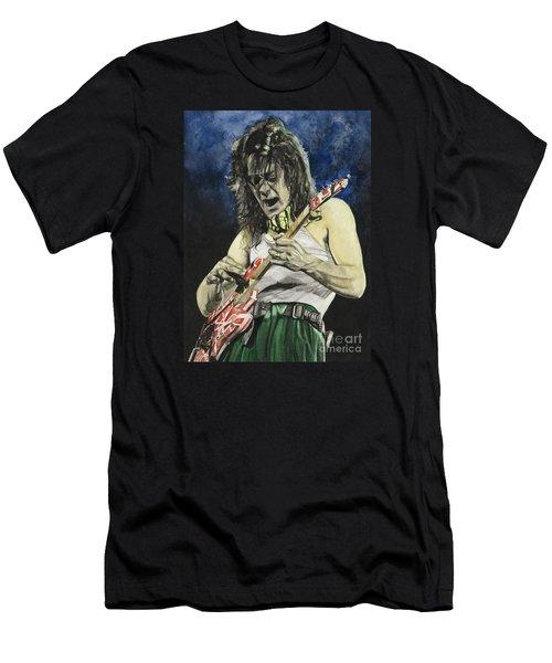 Eruption  Men's T-Shirt (Slim Fit) by Lance Gebhardt