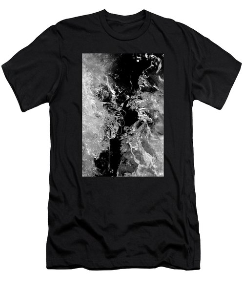 Frozen Illusion Men's T-Shirt (Slim Fit) by Konstantin Sevostyanov