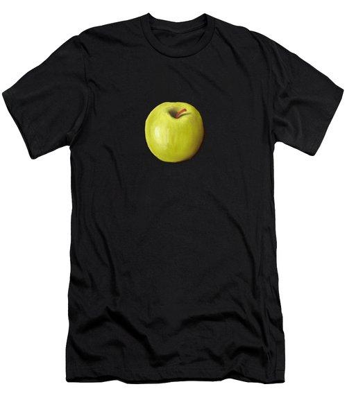 Granny Smith Apple Men's T-Shirt (Slim Fit) by Anastasiya Malakhova
