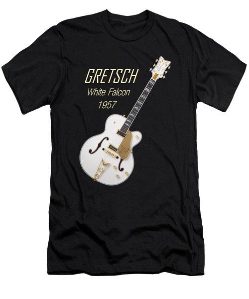 Gretsch  White Falcon 1957 Men's T-Shirt (Slim Fit) by Shavit Mason