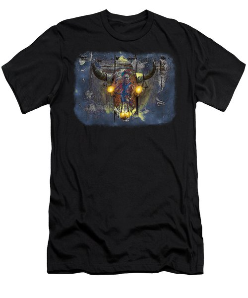 Halloween Shirt And Accessories Men's T-Shirt (Slim Fit) by John M Bailey