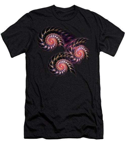 Happy Lights Men's T-Shirt (Slim Fit) by Anastasiya Malakhova