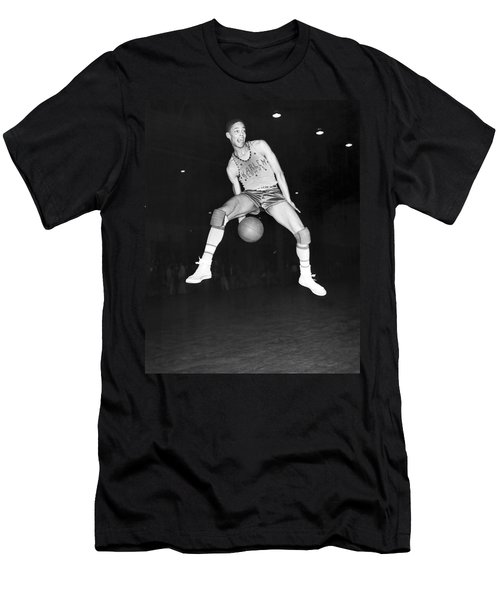 Harlem Clowns Basketball Men's T-Shirt (Slim Fit) by Underwood Archives