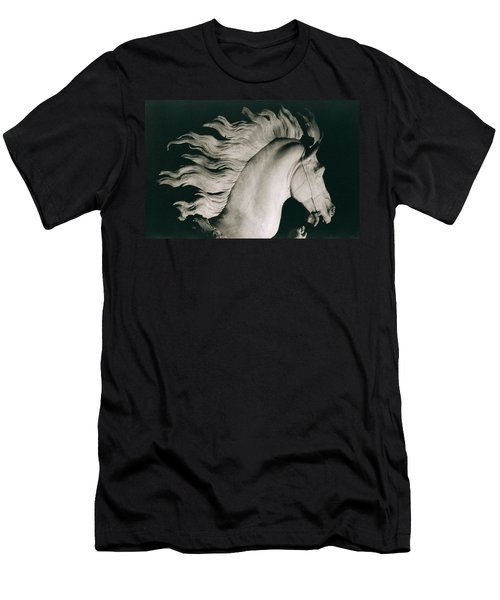 Horse Of Marly Men's T-Shirt (Slim Fit) by Coustou