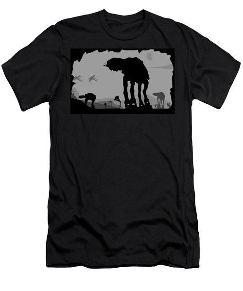 Hoth Machines Men's T-Shirt (Slim Fit) by Michael Bergman