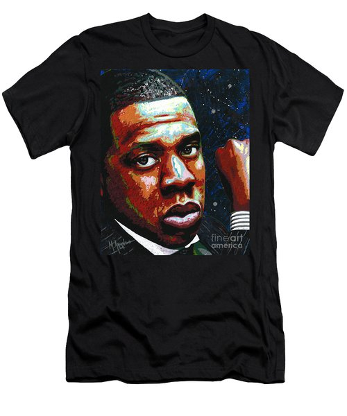 I Am Jay Z Men's T-Shirt (Slim Fit) by Maria Arango