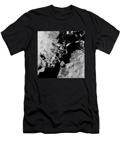 Ice Face Men's T-Shirt (Slim Fit) by Konstantin Sevostyanov