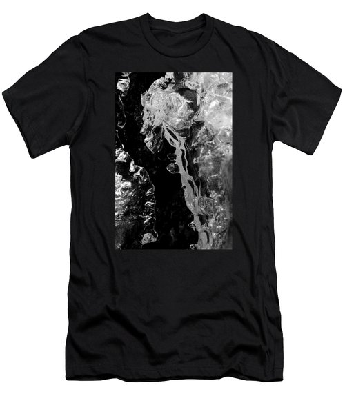 Ice Imagination Men's T-Shirt (Slim Fit) by Konstantin Sevostyanov