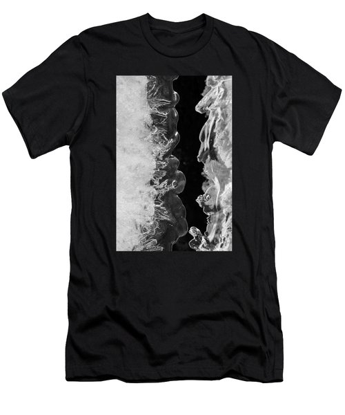 Icy Waves Men's T-Shirt (Slim Fit) by Konstantin Sevostyanov
