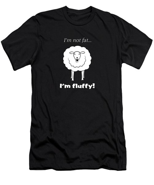 I'm Not Fat Men's T-Shirt (Slim Fit) by Methune Hively