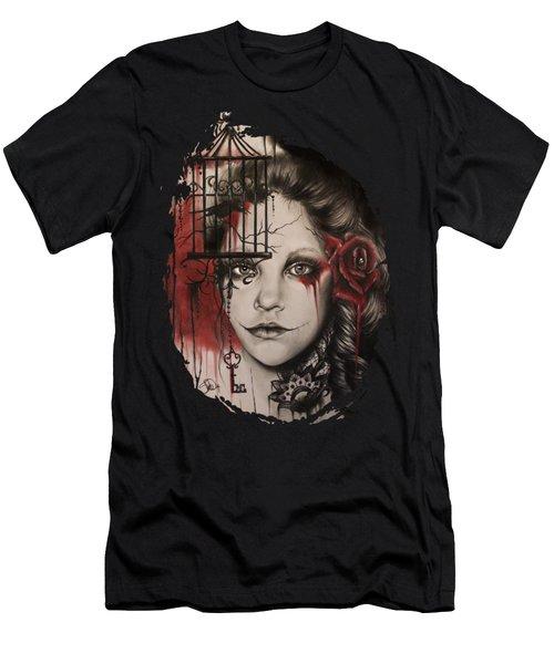 Inner Demons  Men's T-Shirt (Slim Fit) by Sheena Pike
