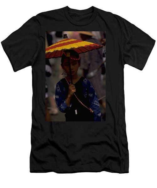 Men's T-Shirt (Slim Fit) featuring the photograph Japanese Girl by Travel Pics