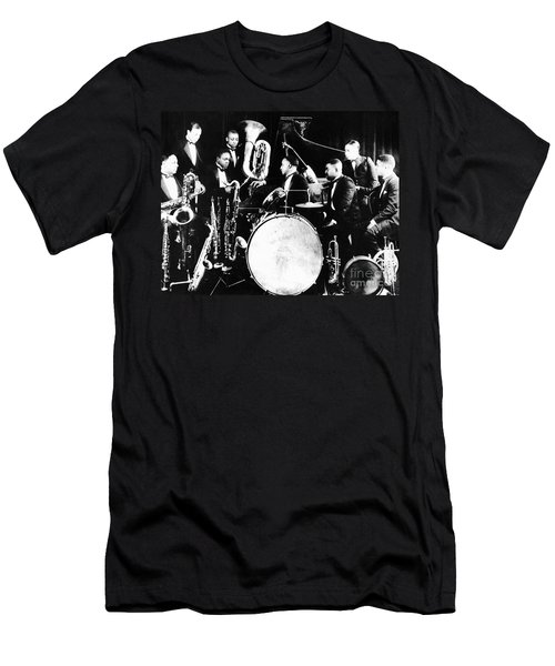 Jazz Musicians, C1925 Men's T-Shirt (Slim Fit) by Granger